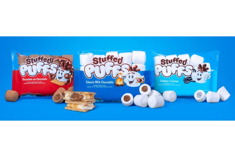 stuffed puffs marshmello 1