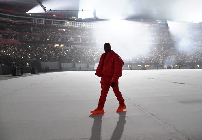 kanye west first event