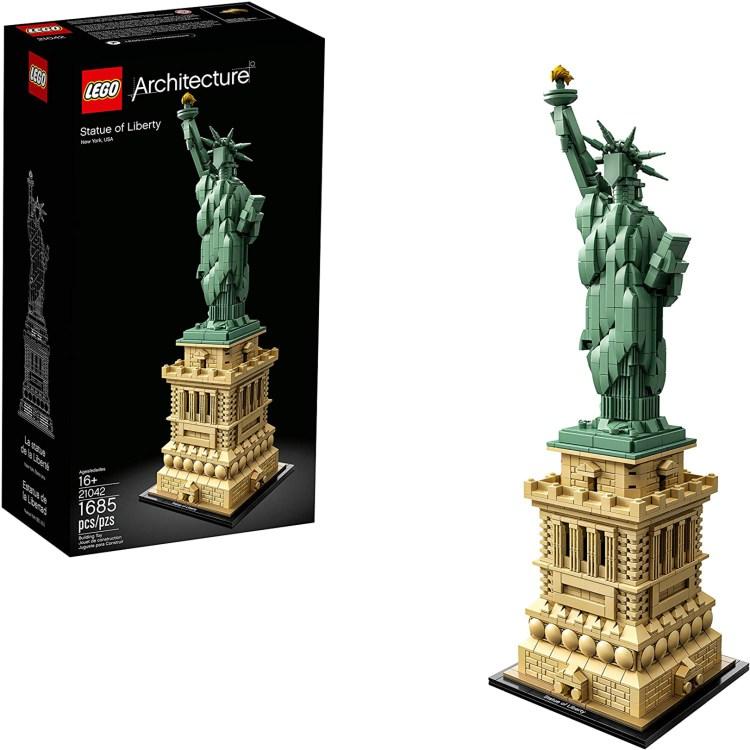lego architecture sets 0000 lego statue of liberty