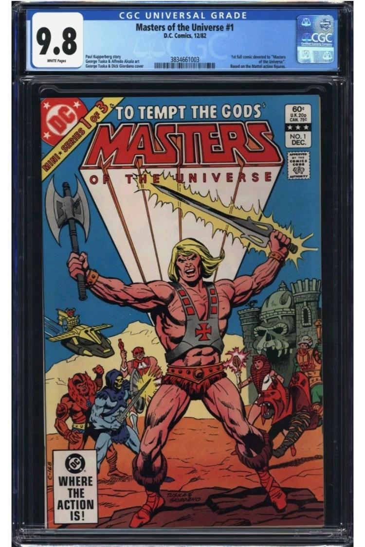 masters of the universe comics 0001 Screenshot 20210723 113055 eBay
