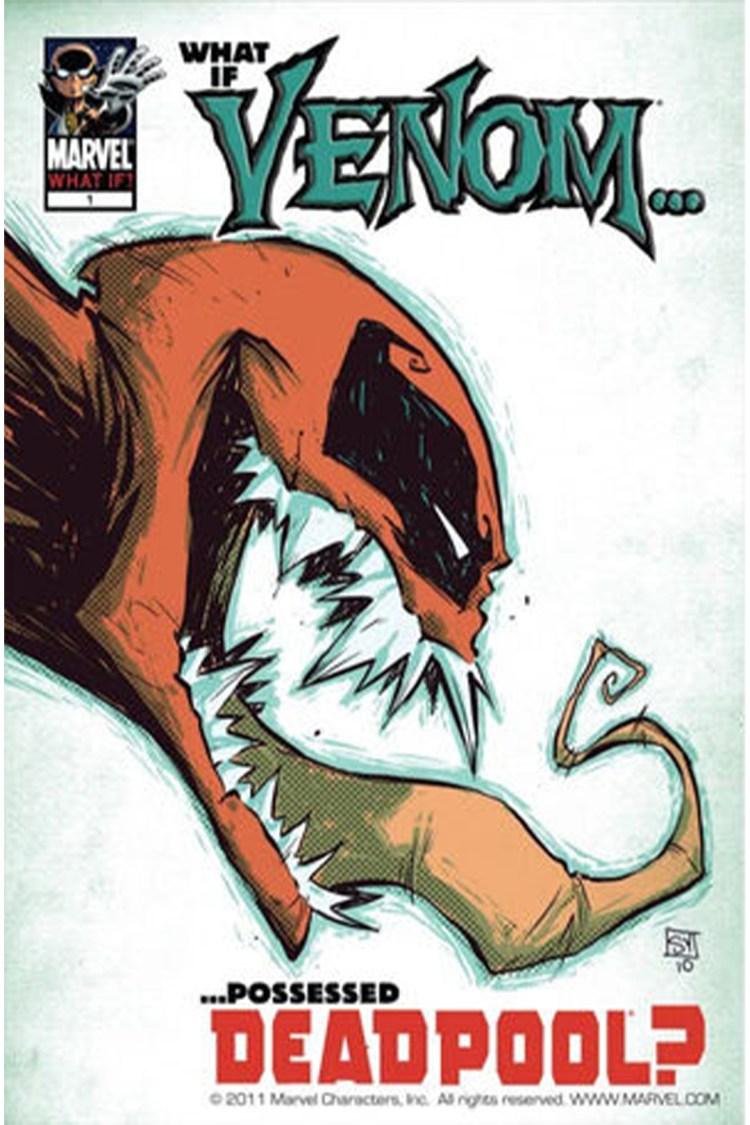 what if marvel comics 0001 Venom Deadpool Vol 1 1