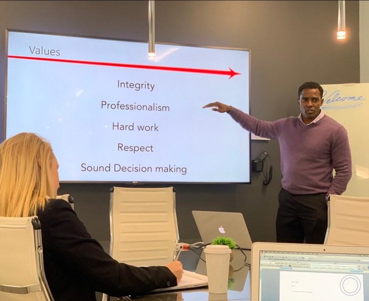 Glenn teaching