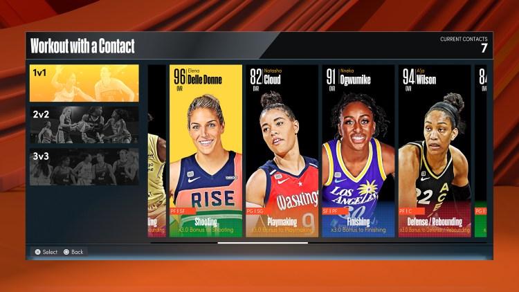 NBA 2K22 The W 3