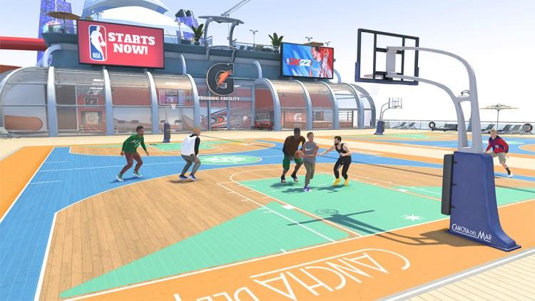 NBA 2K22 Cruise Top Deck