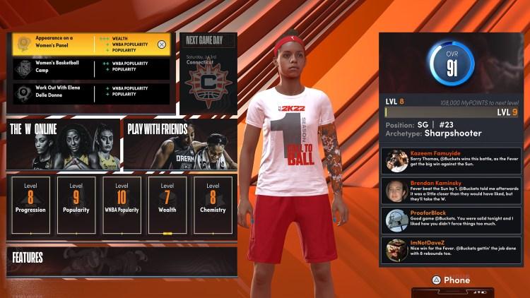 NBA 2K22 The W 1