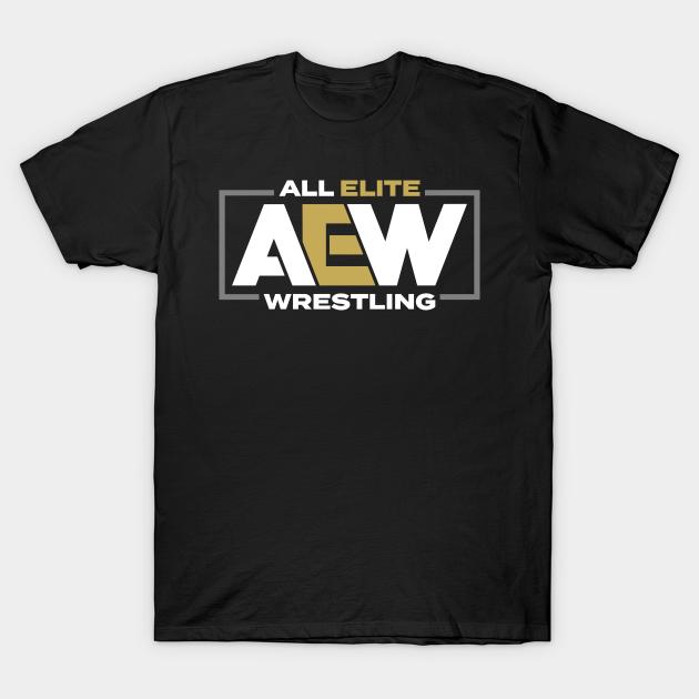 aew logo tshirt
