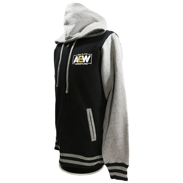 aew varsity hoodie