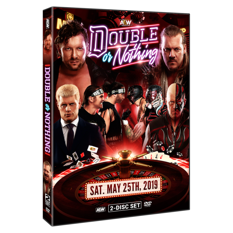 double or nothing dvd