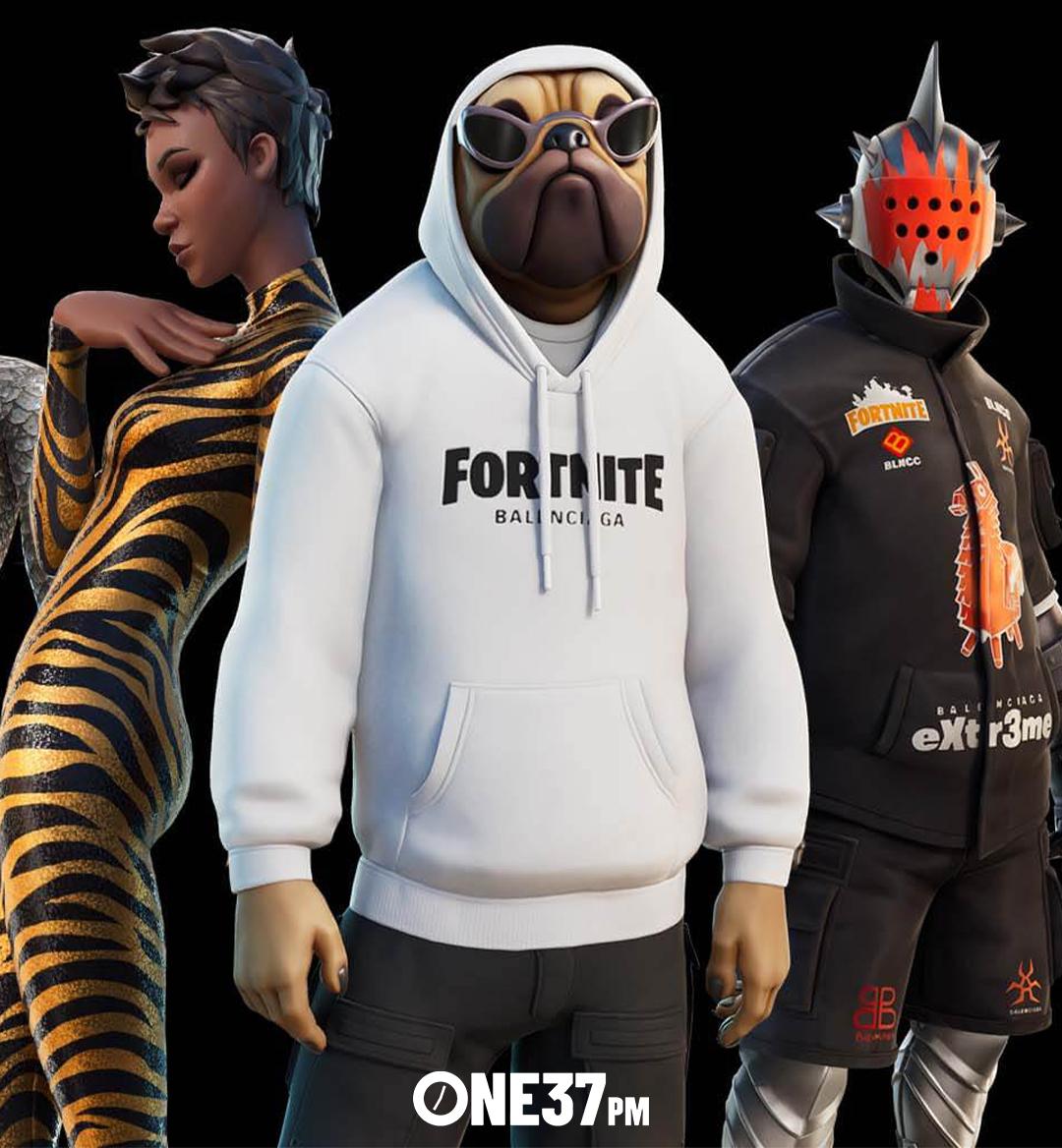 fortnite balenciaga fashion gaming mobile