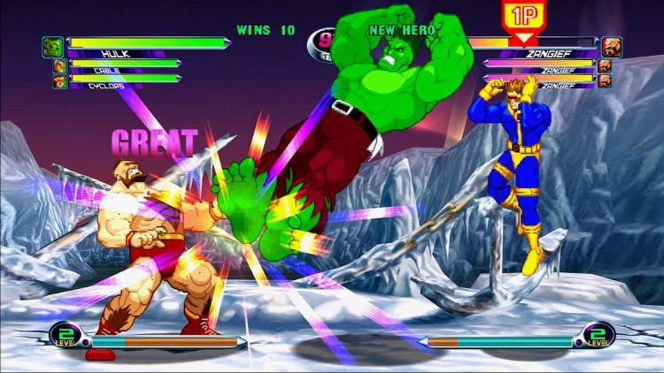 marvel vs capcom 2 image11